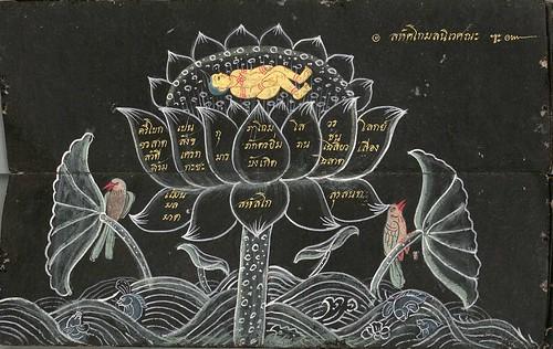 008-Libro de poesía Tailandesa- Segunda Mitad siglo XIX- Biblioteca Estatal de Baviera
