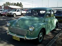 austin fx4(0.0), mid-size car(0.0), dkw 3=6(0.0), automobile(1.0), vehicle(1.0), morris minor(1.0), compact car(1.0), antique car(1.0), sedan(1.0), vintage car(1.0), land vehicle(1.0), motor vehicle(1.0),