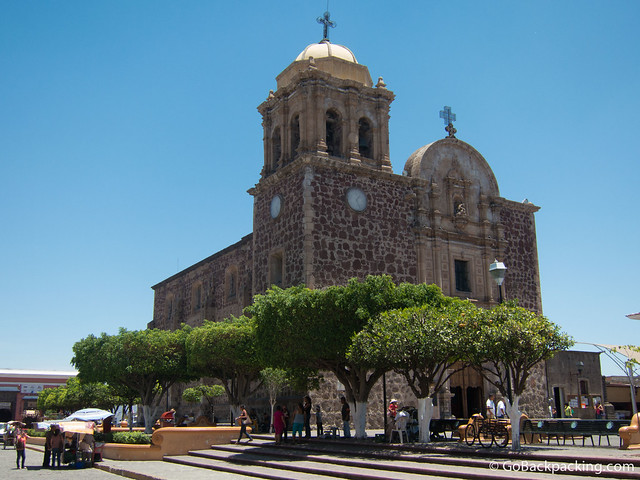Church in the pueblo of Tequila
