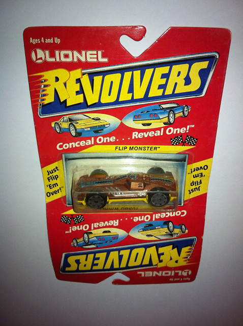 Revolvers - '89 retro toy cars - by Lionel 8752614620_485ed0ddc5_z