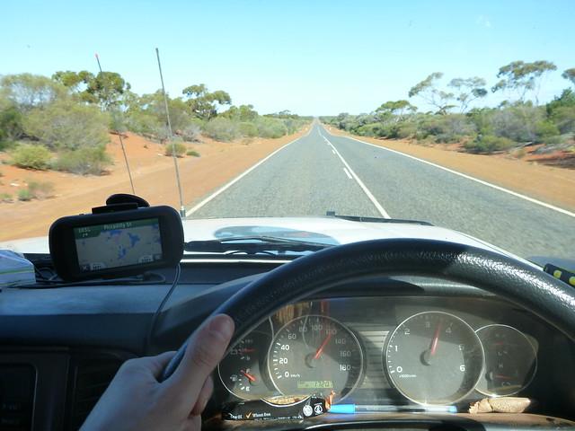 Driving back to Kalgoorlie
