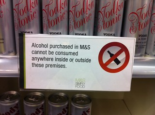 restrictive sign m&s beaconsfield