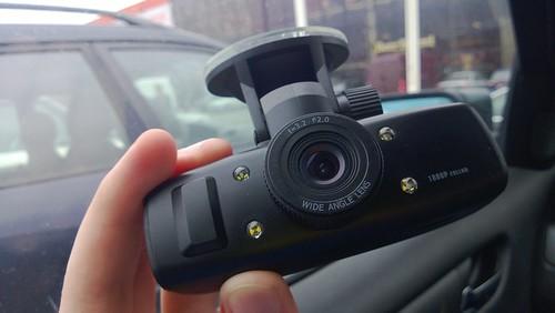 GS1000 Full HD DVR video registratorius automobiliui