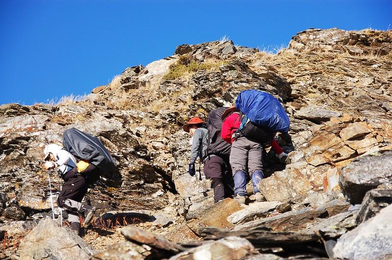 攀登無明山西峰 4