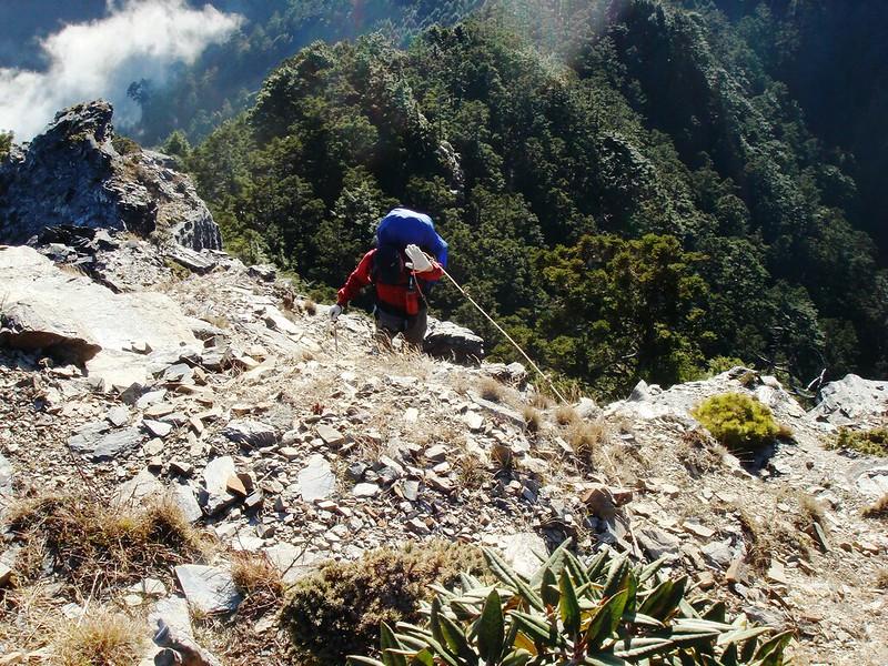 攀登無明山西峰 9
