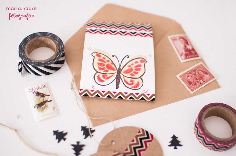 7estampado en capas - mariposa
