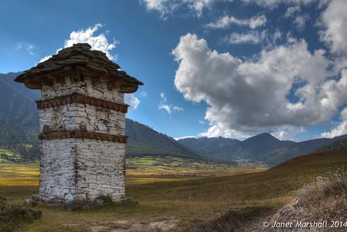 bhutan valley pobjikha