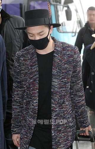 Big Bang - Incheon Airport - 21mar2015 - Tae Yang - Herald Corp - 03