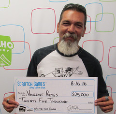 Vincent Reyes - $25,000 (prize split) White Hot Cash