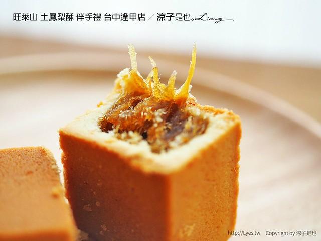 旺萊山 土鳳梨酥 伴手禮 台中逢甲店 72