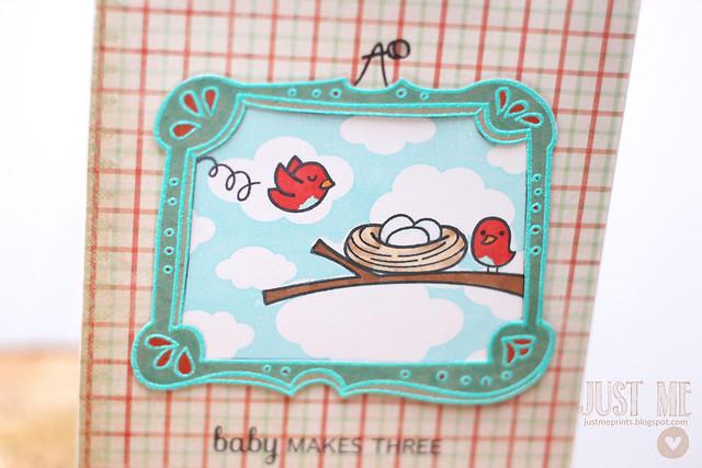 framed birdie baby.