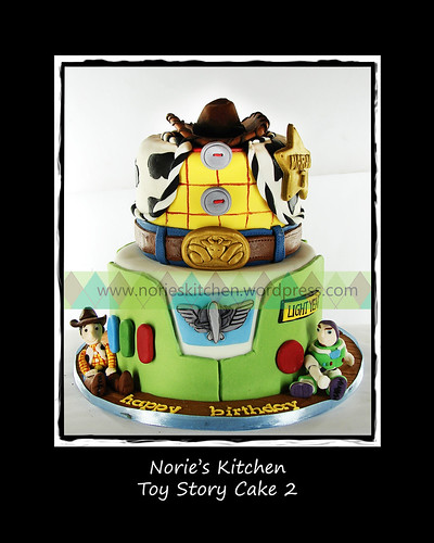 Norie's Kitchen - Toy Story Cake 2 by Norie's Kitchen