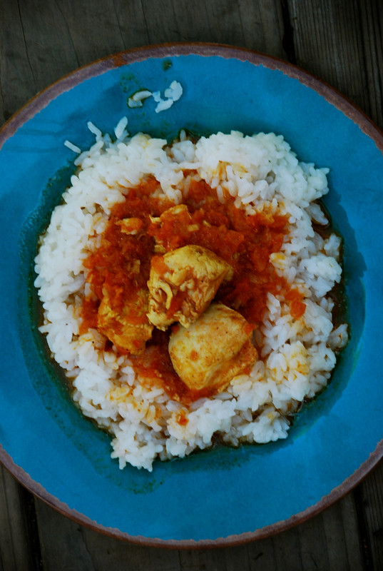 creamy tomato indian chicken