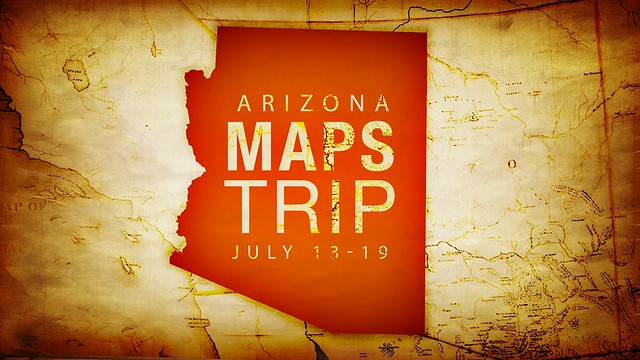 Arizona Maps Trip