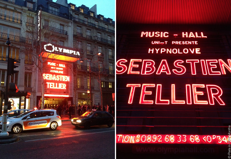 Sebastien Tellier at Olympia by Carin Olsson (Paris in Four Months)