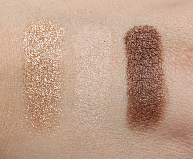 pürminerals Classic beauty perfect fit eye shadow trio swatch