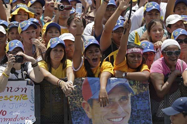 VENEZUELA-ELECCIONES MARCHA