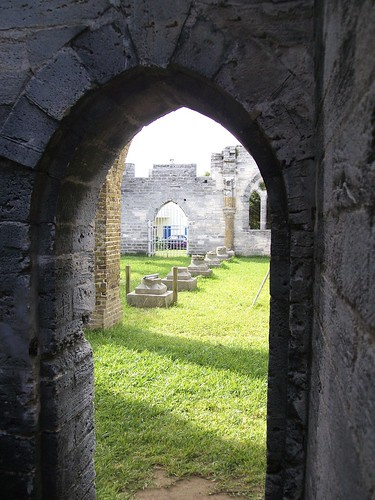 Bermuda - unfinished church