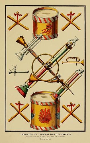 019-Trompetas y tambores infantiles-Epoca Imperio-Histoire des jouets….1902- Henry René d' Allemagne