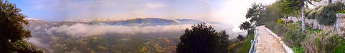 panorama lebanon cloud saint st clouds landscape mar peace religion panoramic calm pax pace hermitage nuages paysage libano religions calme liban eremitério panoramique charbel anaya annaya libani sancto anachoretarum