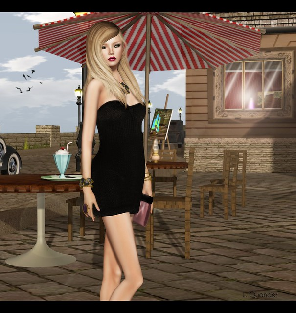 Mimikri - Strapless Valerie dress - Black v2