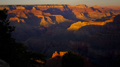 Powell Point sunset - Grand Canyon - 4-01-13  01