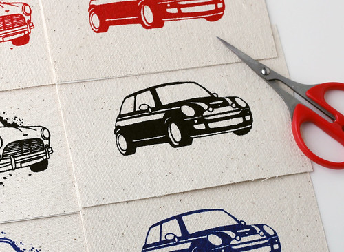 MINI Cooper iron-on patch