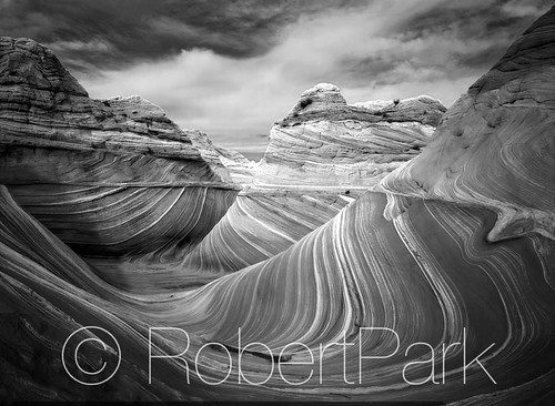 """Infinity"" Coyote Buttes Wilderness Area in Northern Arizona. By Robert Park  http://www.robert-park.com by Robert Park Photography"