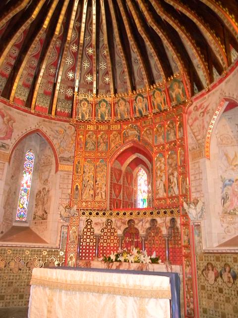 Interior, Hascombe Church