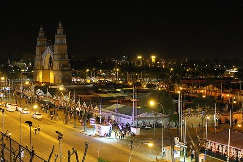 2013.04.15.004 - SEVILLA - Calle Padre Damián · Av Flota de Indias - (Feria de Abril 2013 - 'Alumbrao')