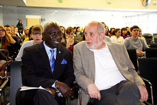 UN Secretary-General's Special Adviser on the Prevention of Genocide Adama Dieng at University of Ljubljana