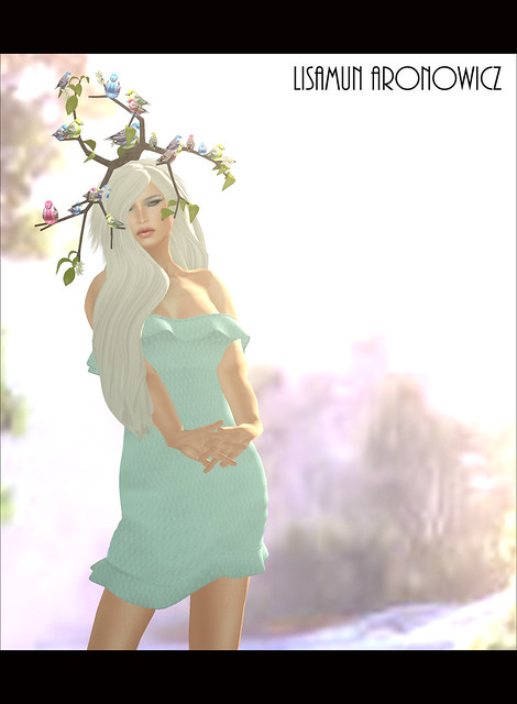 Lyla Dress,Melody Hair and Attack of the Birds Headdress