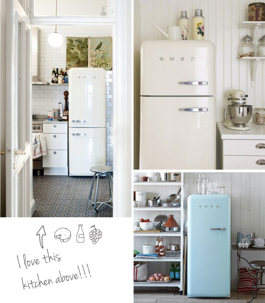 Crushing On Smeg Refrigerators Decor8