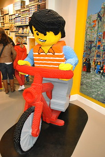 Lego Store in downtown Copenhagen