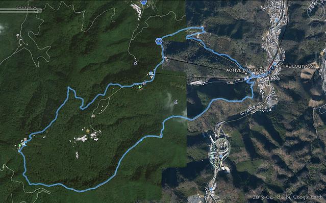2013-04-18登山経路