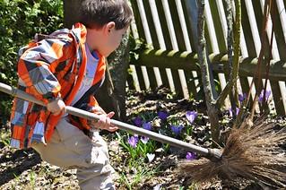 Spring Cleaning Preschooler