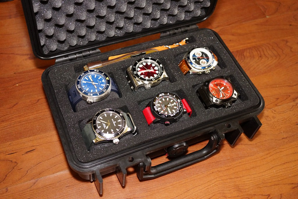 Recommendations for travel watch case for approx 3 watches for Watches box