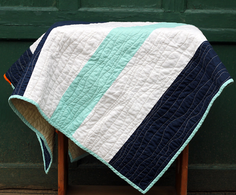 Nautical Stripe Quilt