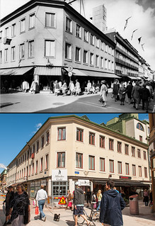 Gothenburg, Inom Vallgraven 1950 / 2013