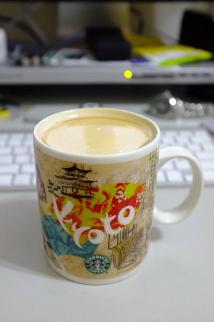 週末晚的咖啡