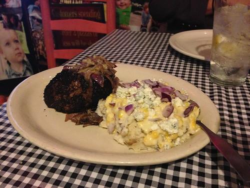 Steak and Royer's Mash
