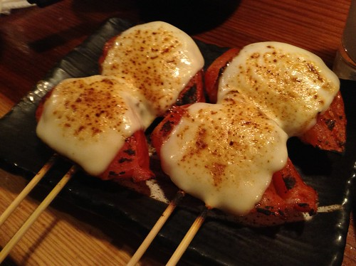 肉巻きトマト+チーズ