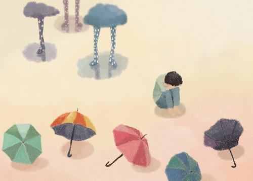 I hate the rain