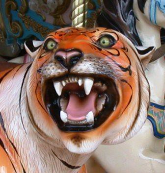 Star Spangled Carousel tiger