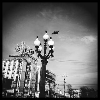Lantern. Pushkin Square