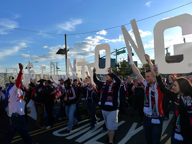 RBNY-NY Supporters' March