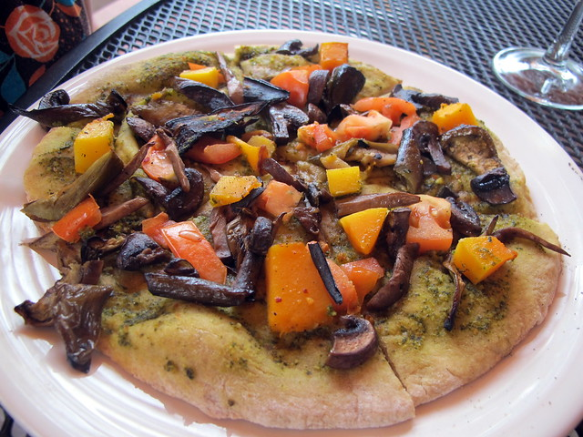 Vegan Pizza at At Merriman's