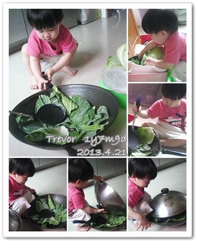 130421-兔寶在炒高麗菜
