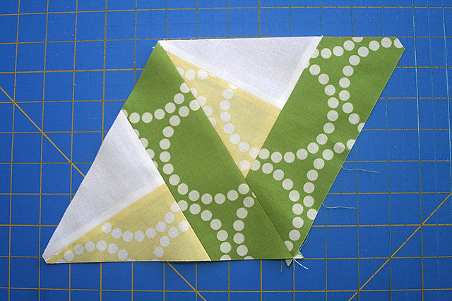 Bloom Bloom Pow Triangle Piecing