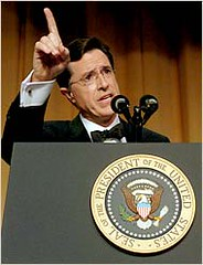 Colbert at Correspondents Dinner